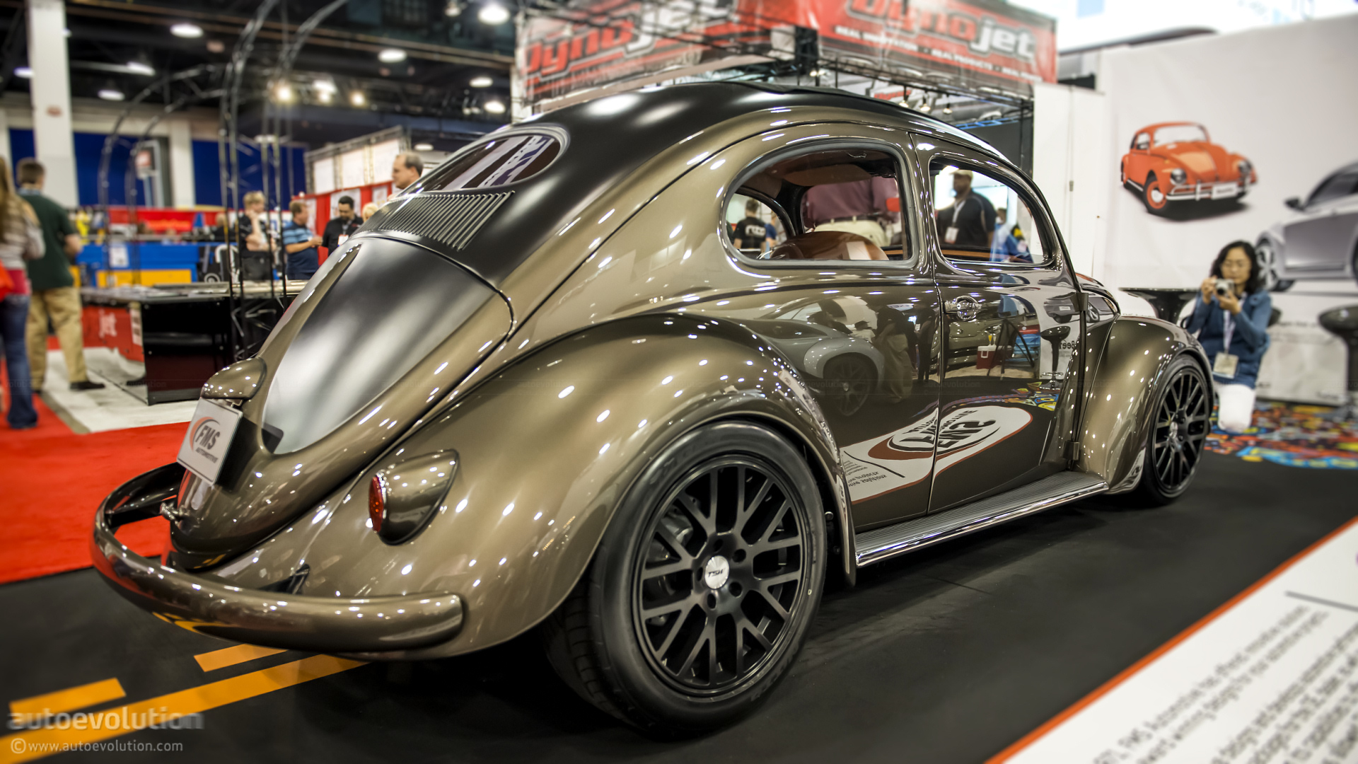 2012 SEMA: 1956 VW Beetle by FMS Automotive [Live Photos ...