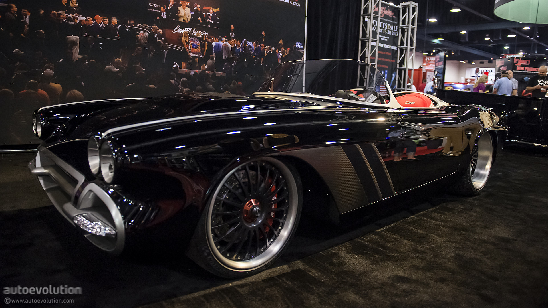 2012 Sema 1962 Corvette C1rs Live Photos Autoevolution