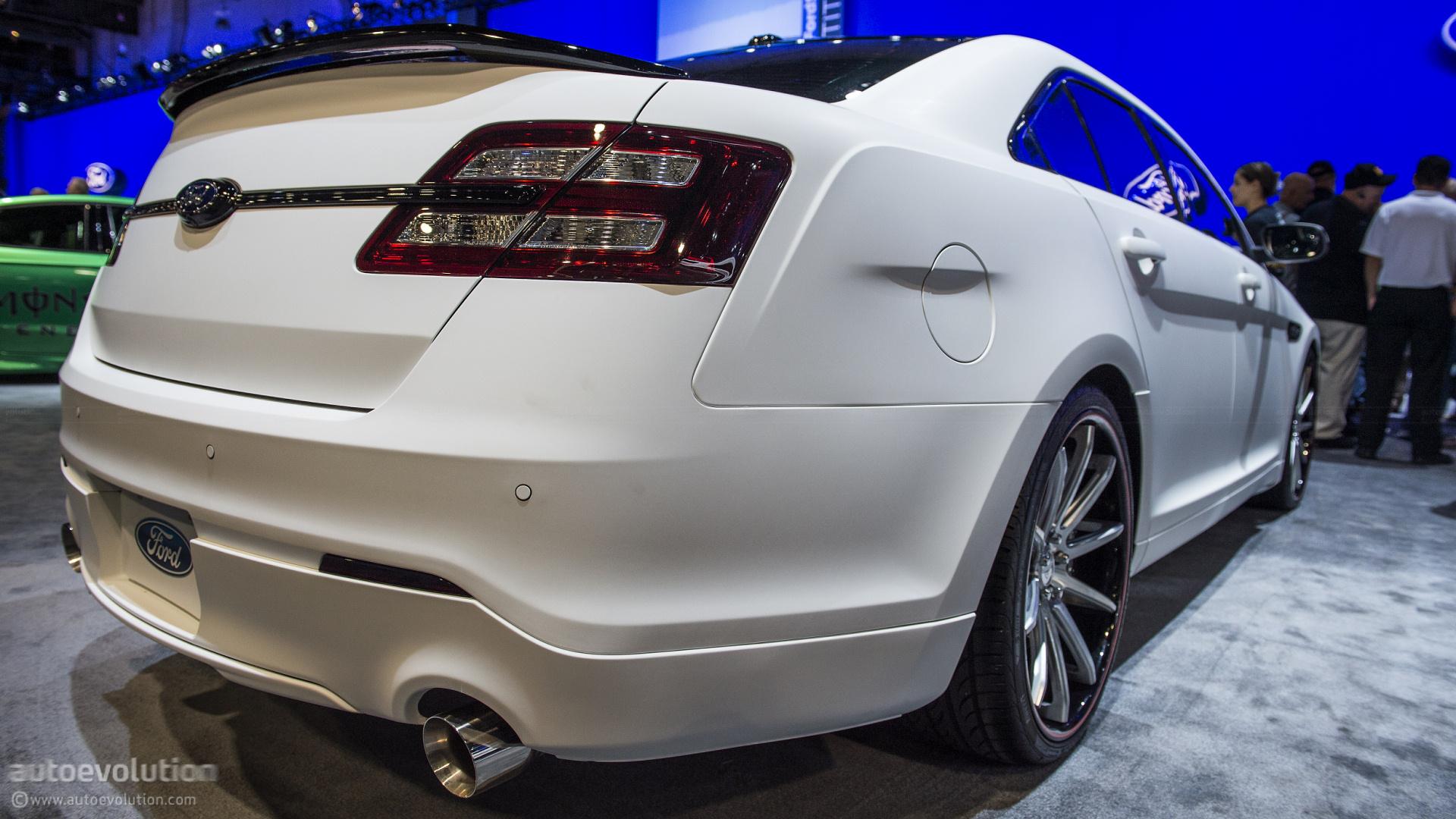 2012 SEMA: 2013 Ford Taurus SHO by CGS Motorsports [Live ...