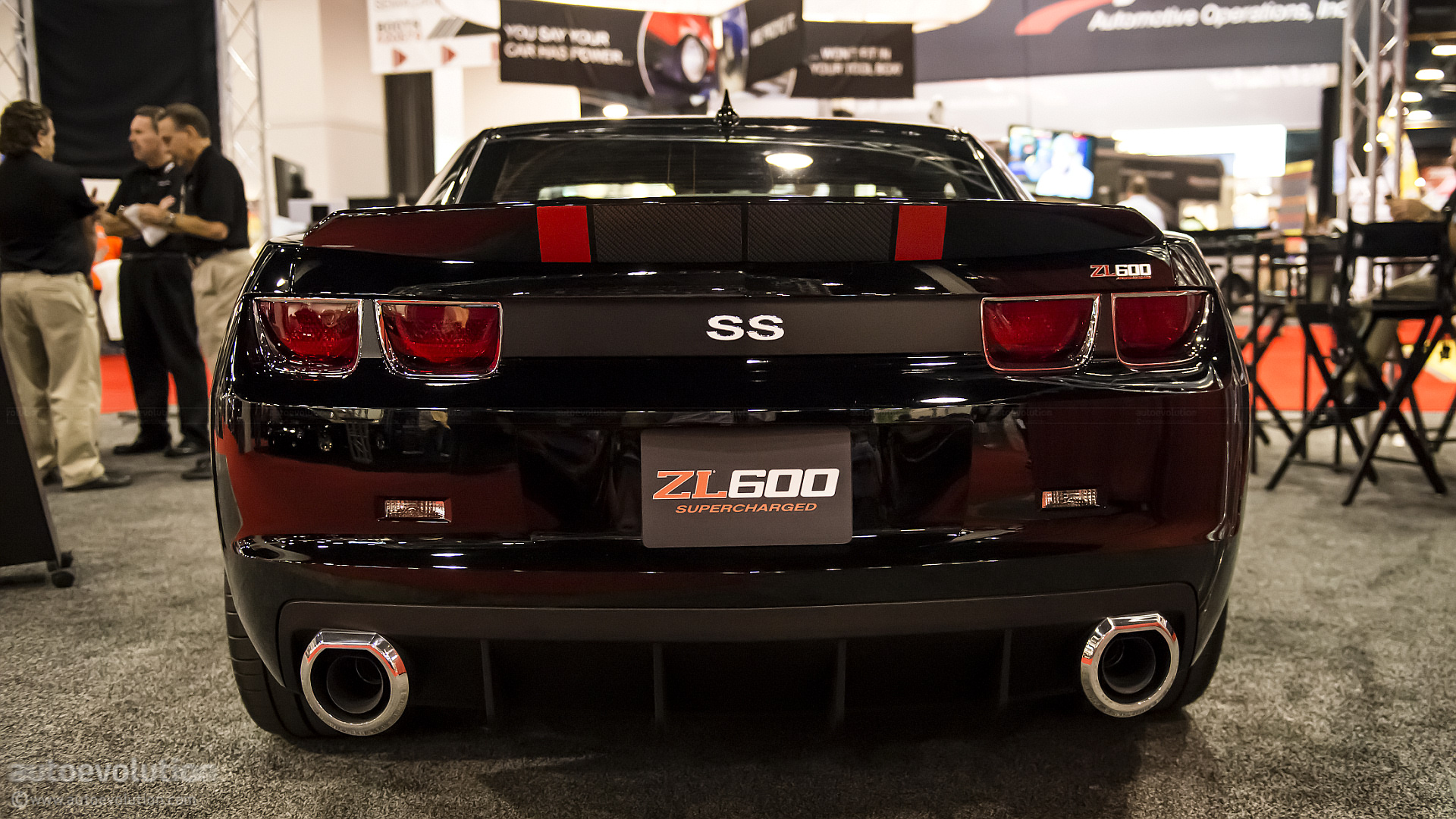 2012 SEMA 2013 ZL600 Supercharged Camaro Live Photos