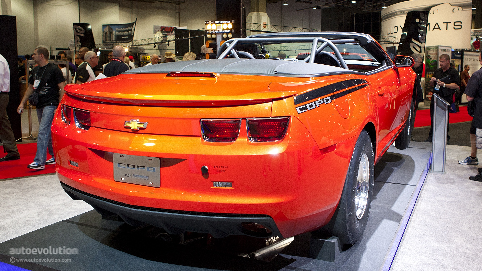 2012 sema chevrolet copo camaro convertible. Cars Review. Best American Auto & Cars Review