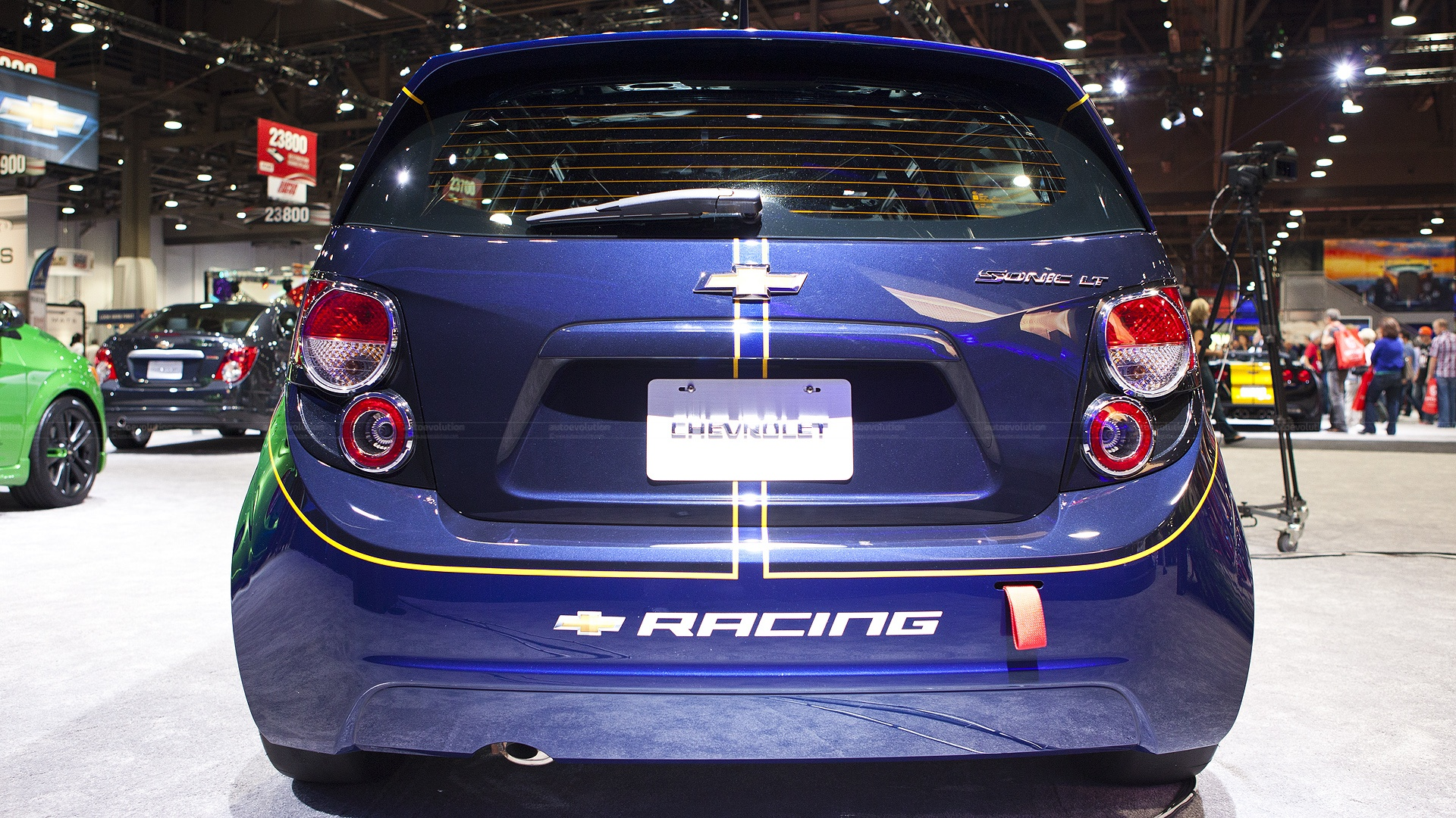 2012 Sema Chevy Sonic B Spec Race Car Live Photos