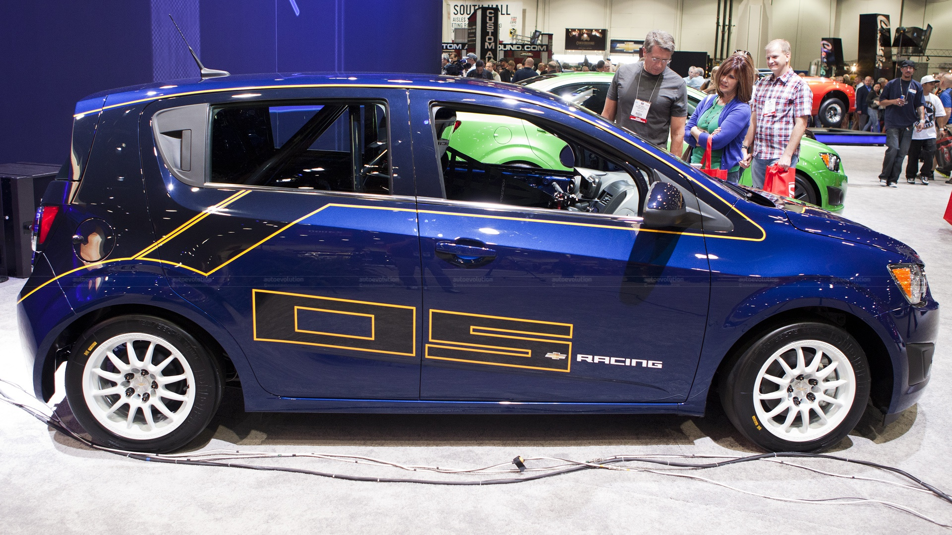2012 Sema Chevy Sonic B Spec Race Car Live Photos Autoevolution