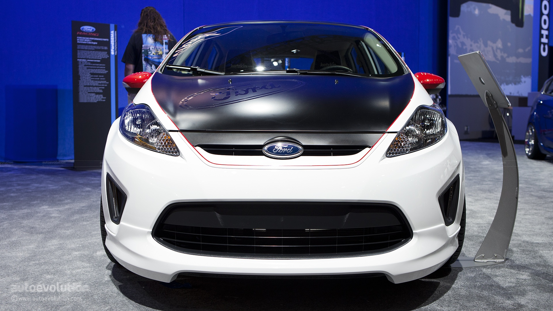 2012 SEMA: Ford Fiesta by Marketing in Motion [Live Photos ...
