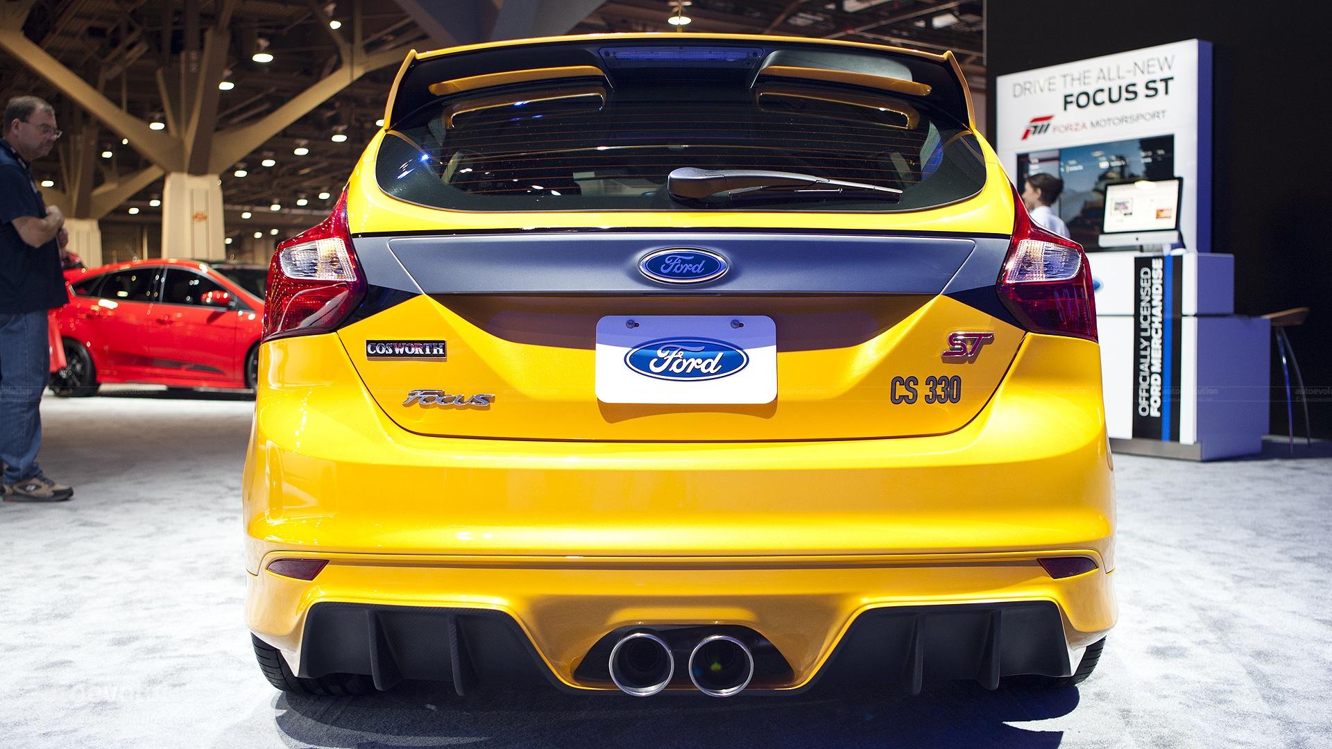 2012 SEMA: Ford Focus Cosworth CS330 [Live Photos ...
