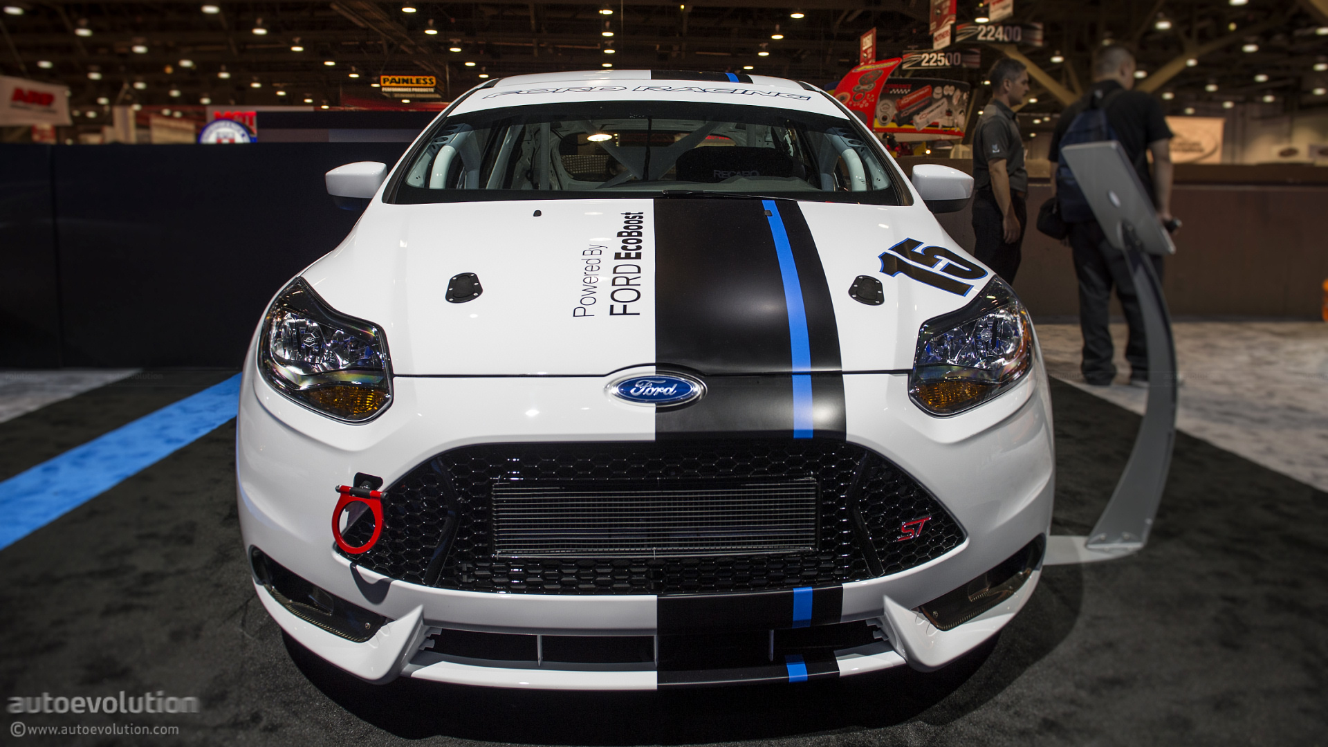 2012 Sema Ford Focus St R Live Photos Autoevolution