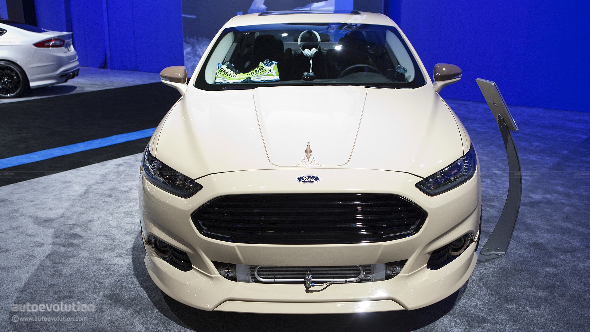 2012 Sema Ford Fusion Tjin Edition Live Photos