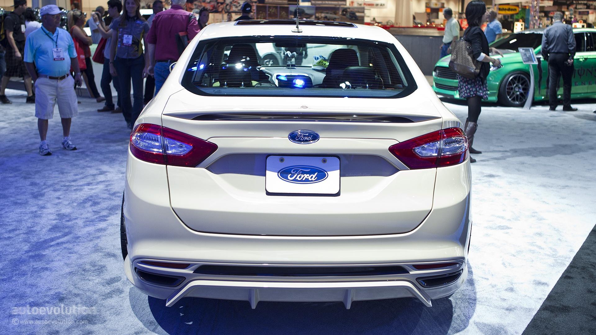 2012 SEMA Ford Fusion Tjin Edition Live s autoevolution
