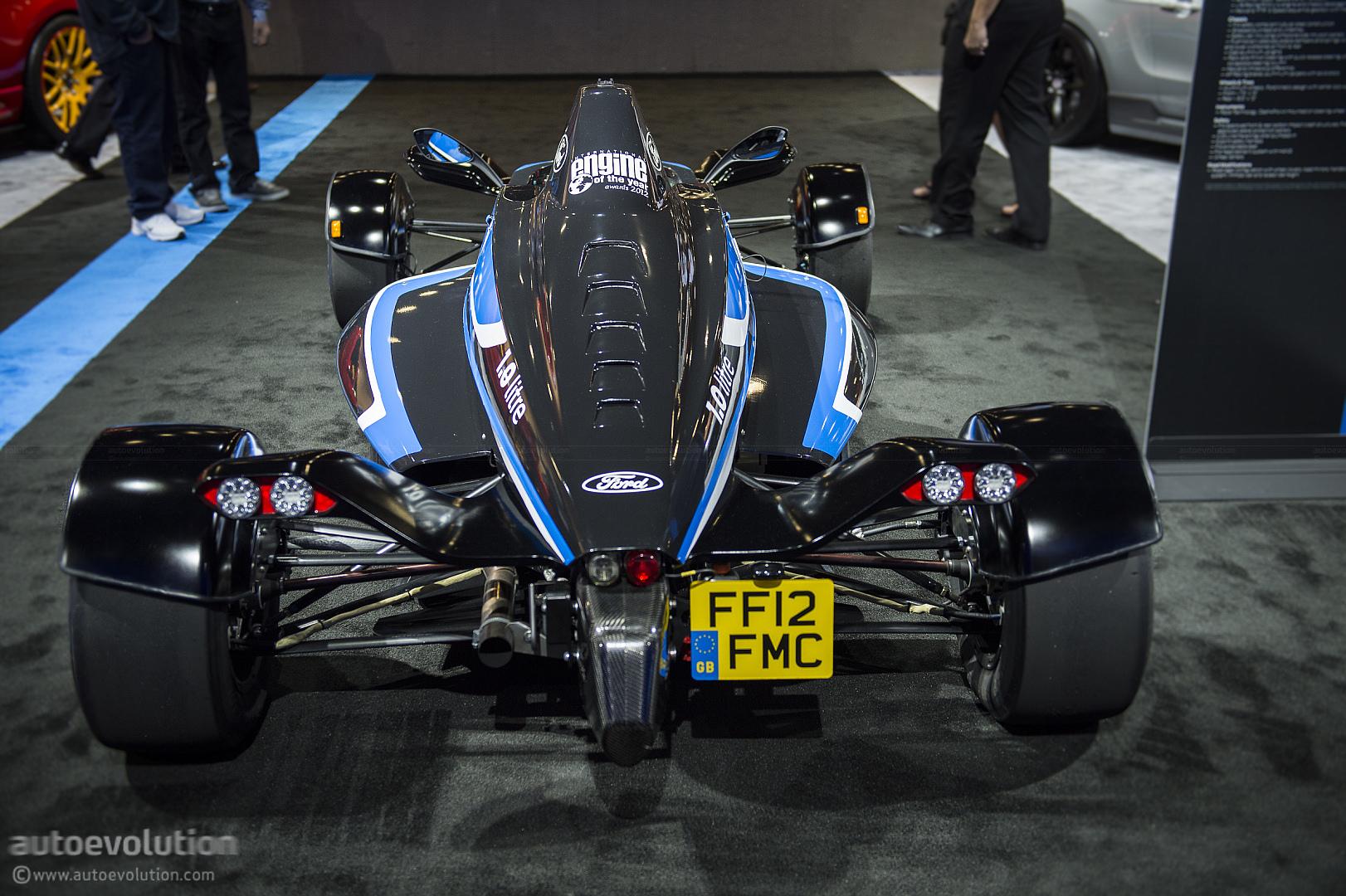 Sema Formula Ford L Ecoboost Road Car Live Photos