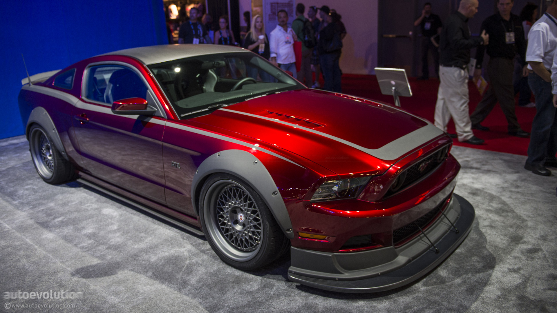 2012 Sema Mothers Mustang Rtr Spec 3 Live Photos