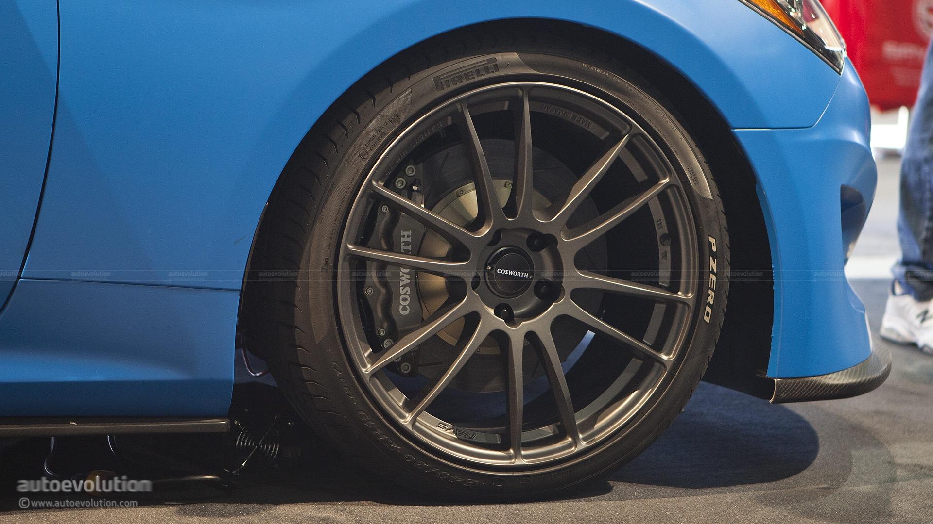 2012 Sema The Cosworth Hyundai Genesis Coupe Racing Live