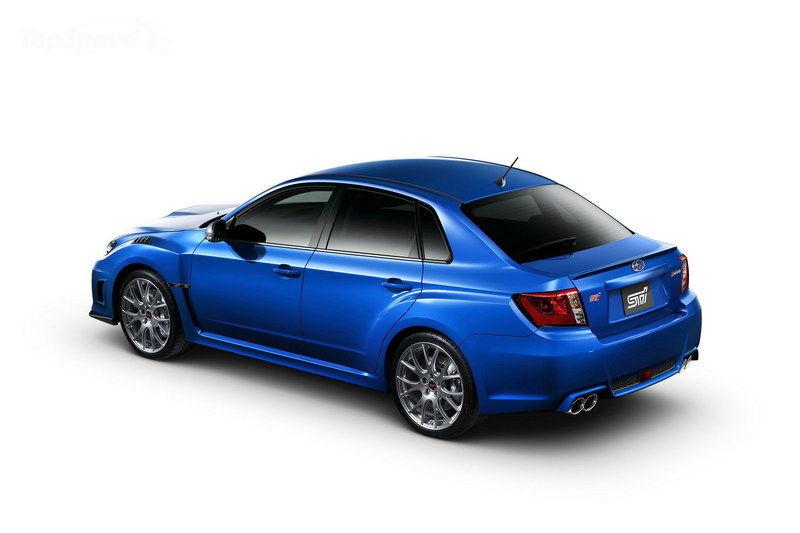 2012 Subaru Impreza WRX STI S206 Launched - autoevolution