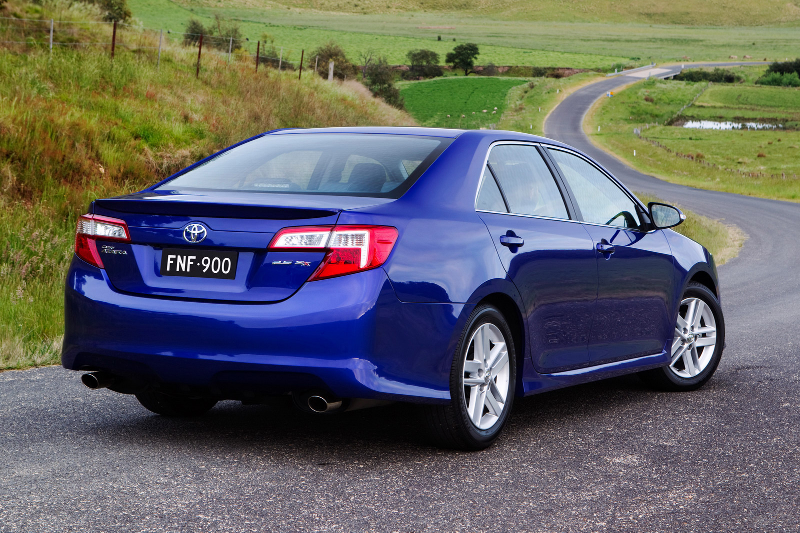 2012 Toyota Camry For Australia Unveiled Autoevolution