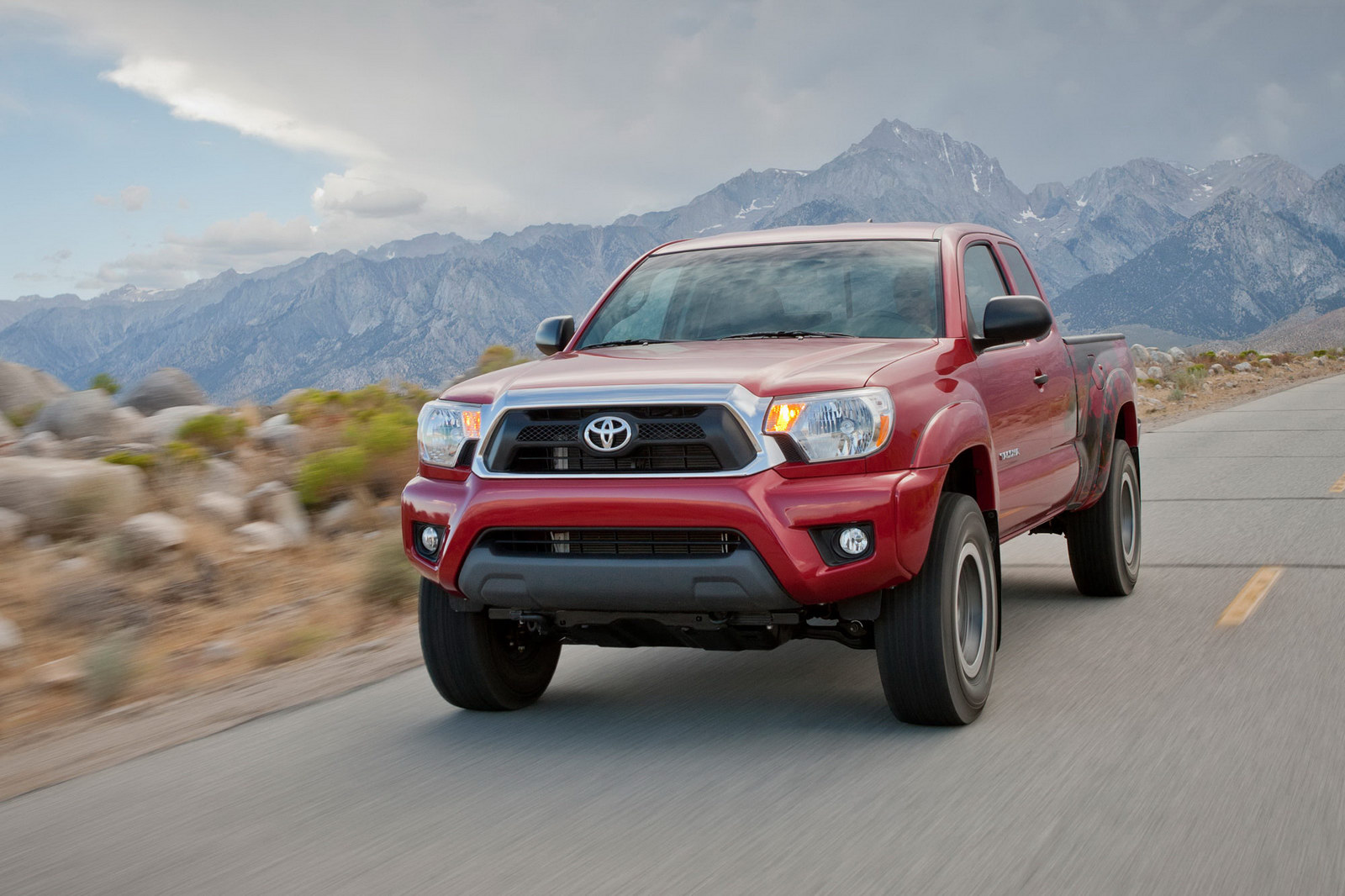 grill cover winter and screen image front products runner bug grille tacoma behind the pre pickup toyota