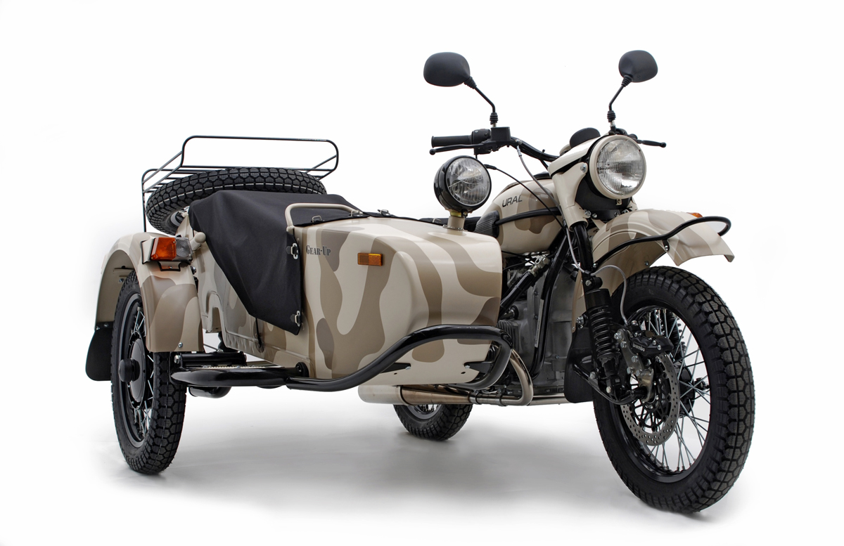 2012 Ural Gear-Up: 2WD Bikes Are Still Standing ...