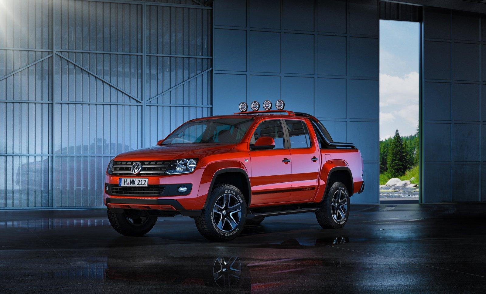2012 volkswagen amarok canyon concept debuts in geneva. Black Bedroom Furniture Sets. Home Design Ideas