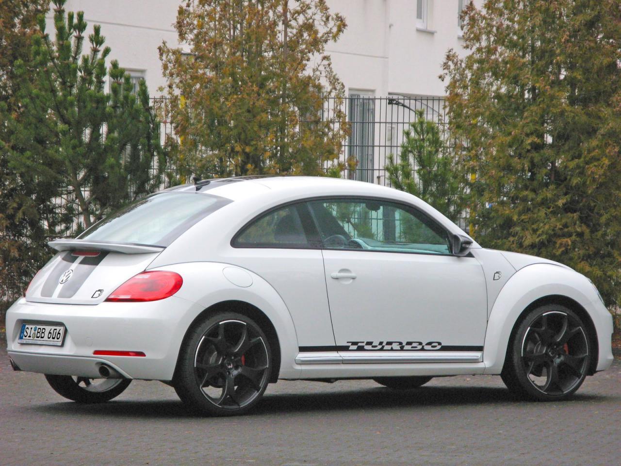2012 volkswagen beetle by b b delivers 320 hp autoevolution. Black Bedroom Furniture Sets. Home Design Ideas
