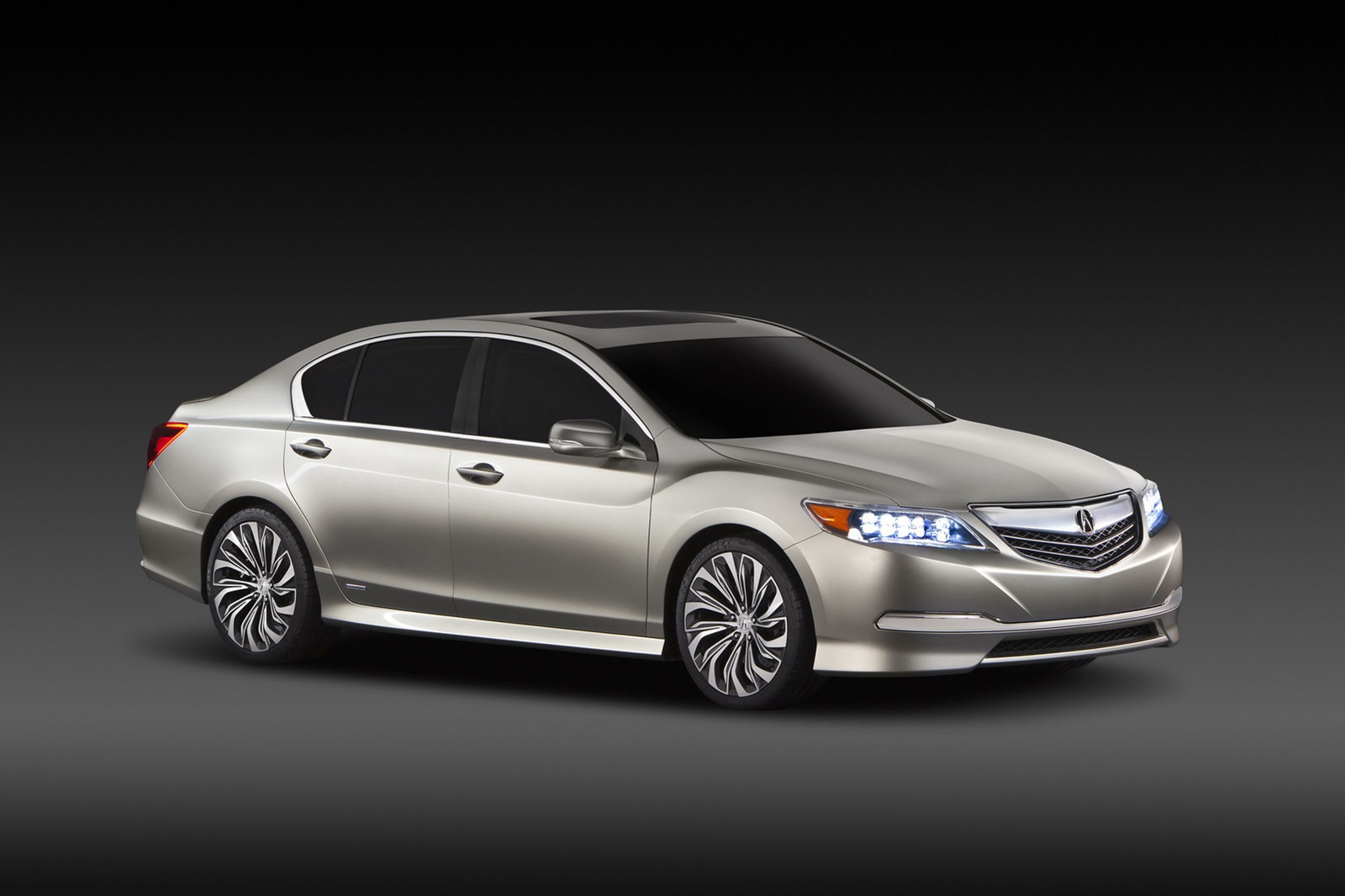 2013 Acura RLX Concept Unveiled: Photos and Video - autoevolution