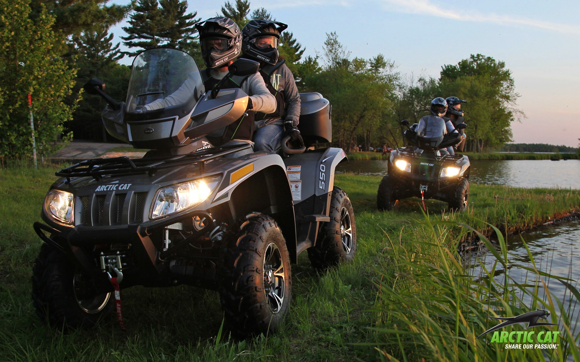 2013 Arctic Cat TRV 550 LTD, the Middleweight Displacement ...