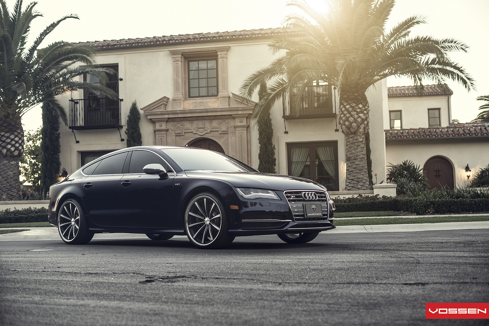 2013 Audi S7 On Vosen Wheels Autoevolution