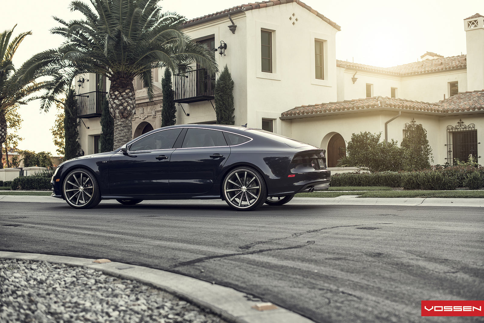 2013 audi s7 on vosen wheels autoevolution. Black Bedroom Furniture Sets. Home Design Ideas