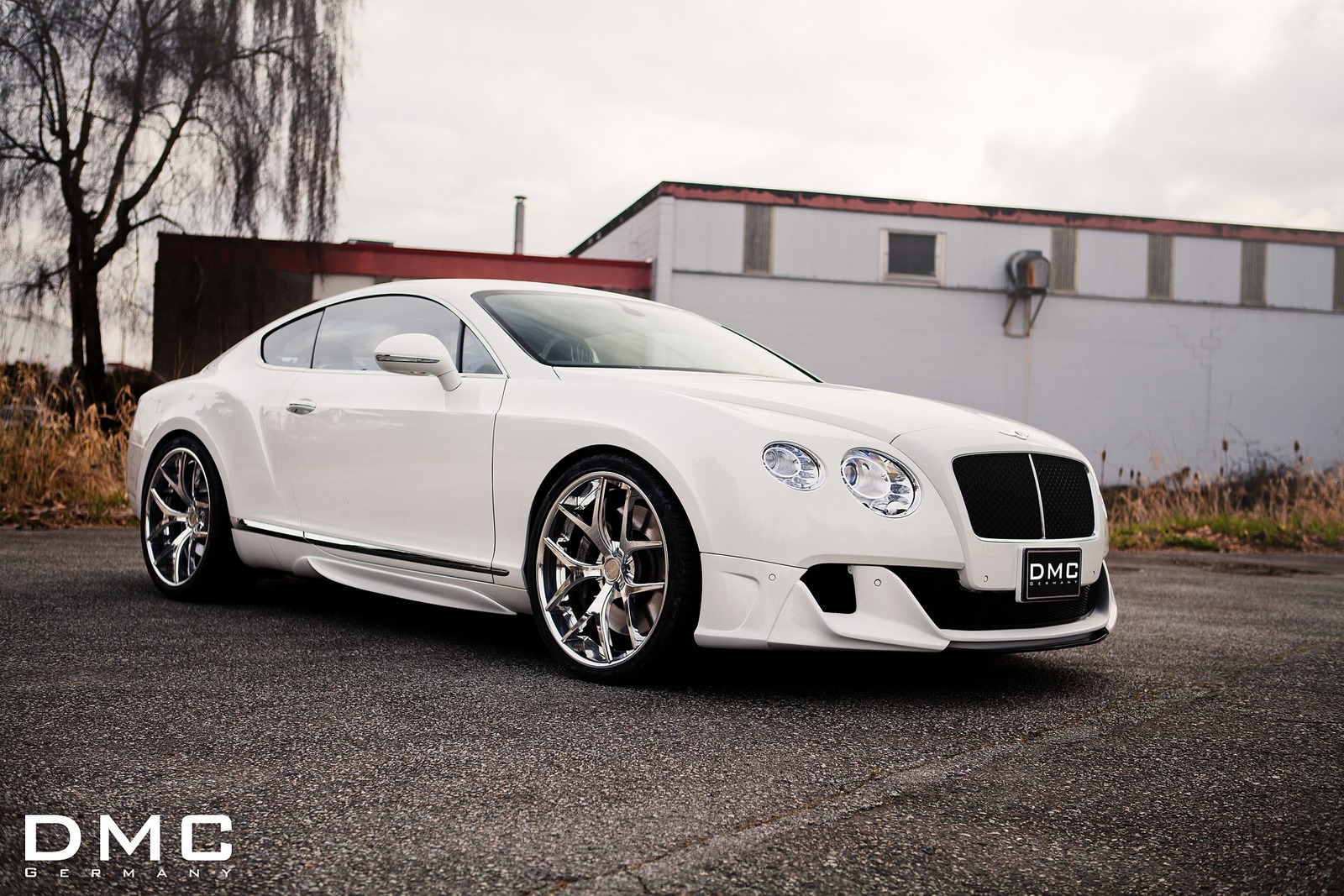 2013 Bentley Continental Gt Gets Awesome Dmc Body Kit