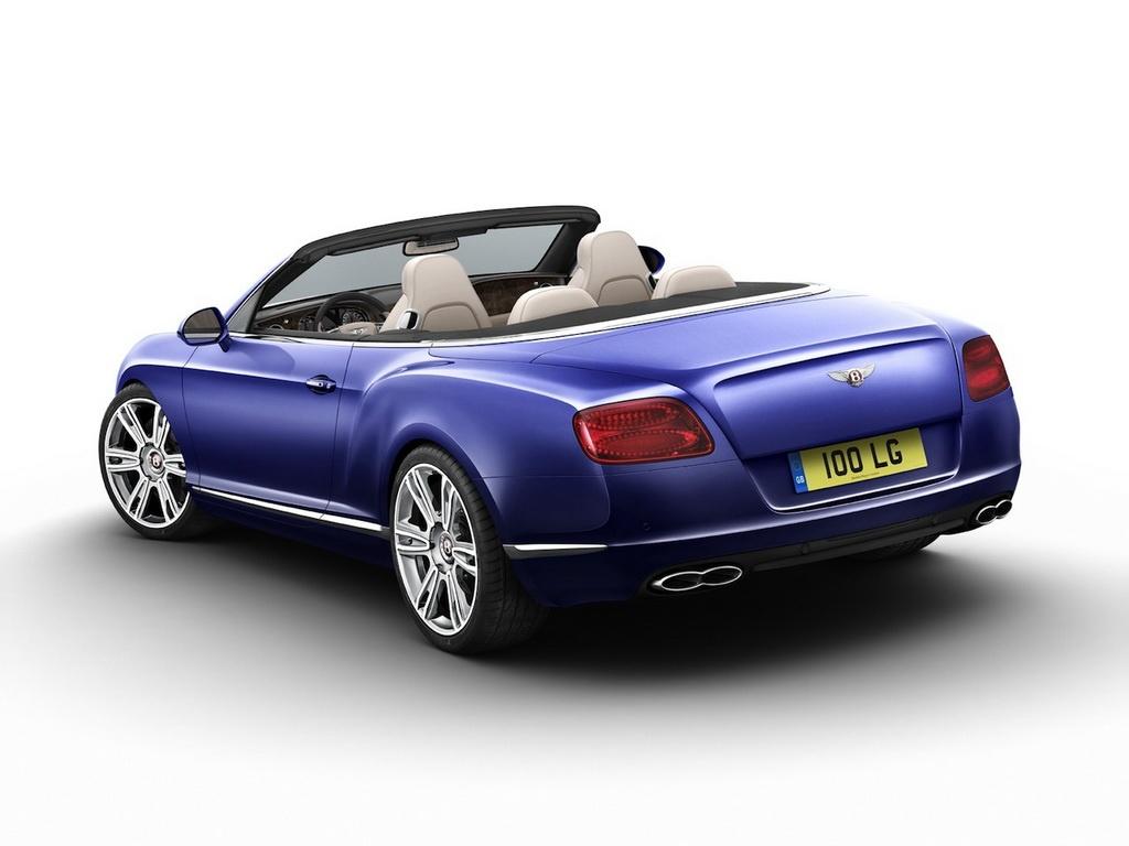 2013 Bentley Continental Gtc V8 Convertible Unveiled