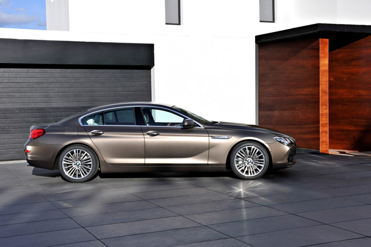 2013 bmw 6 series gran coupe unveiled autoevolution. Black Bedroom Furniture Sets. Home Design Ideas