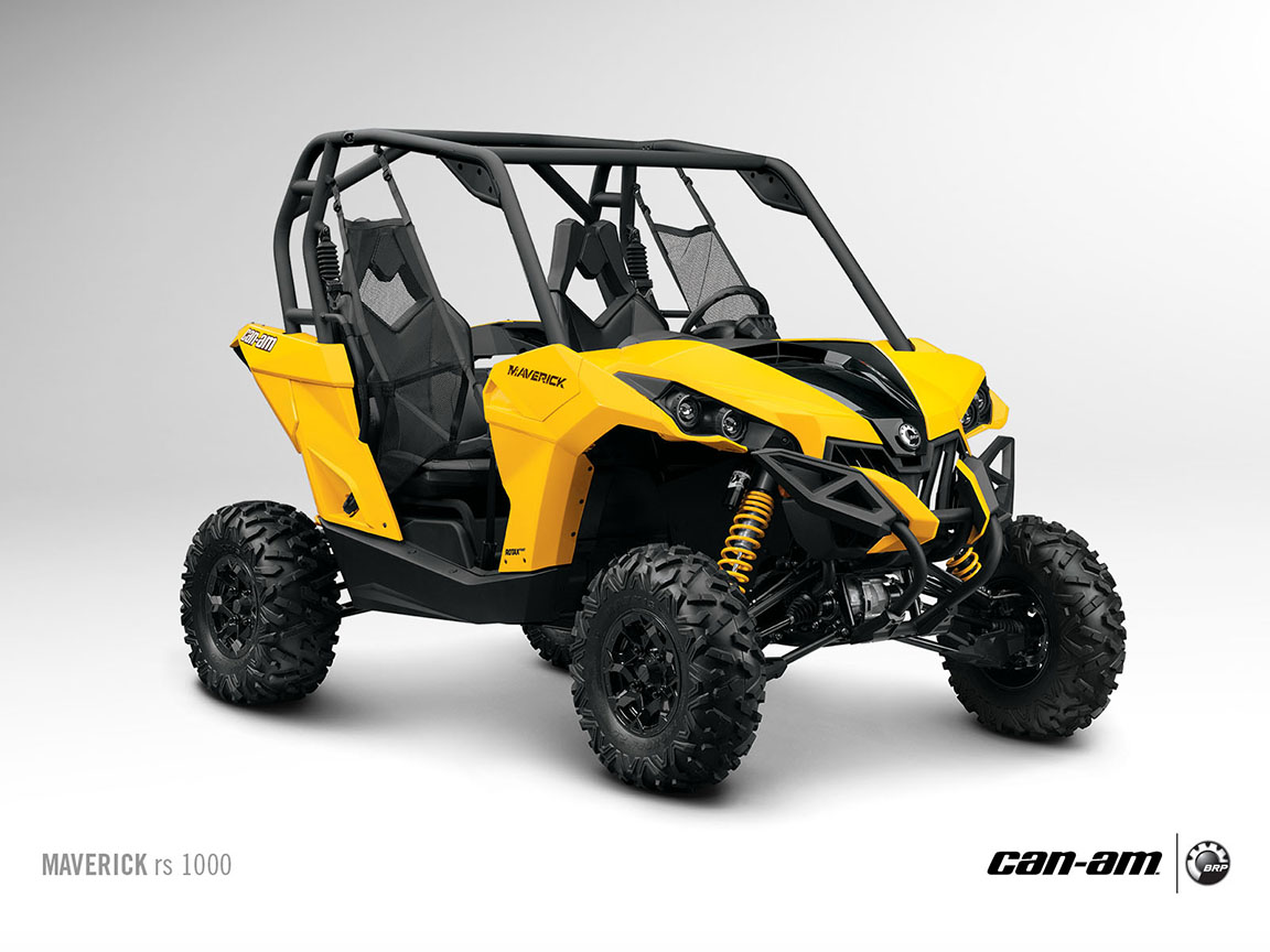 Tire Ratings Guide >> 2013 Can-Am Maverick RS 1000, the Off-Road SxS Menace ...