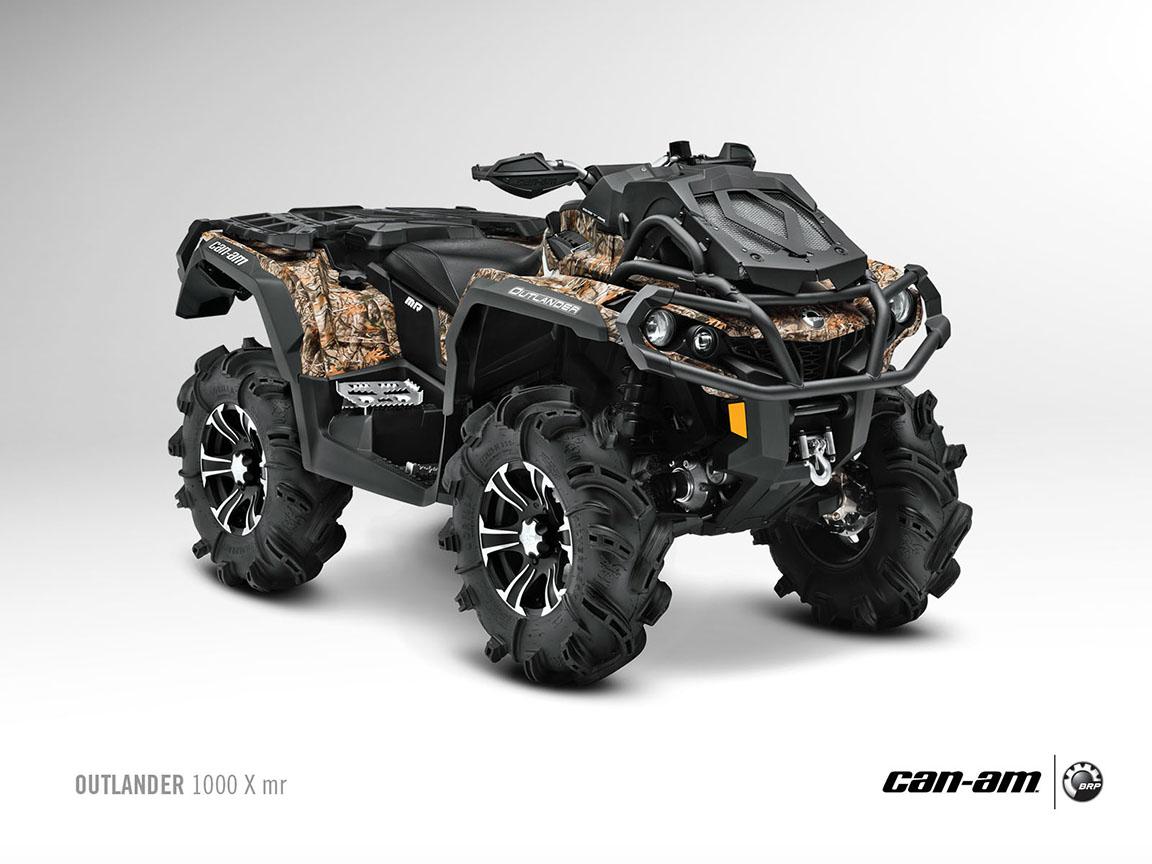 2013 Can Am Outlander 1000 X Mr Atv Side X Side Vehicle ...
