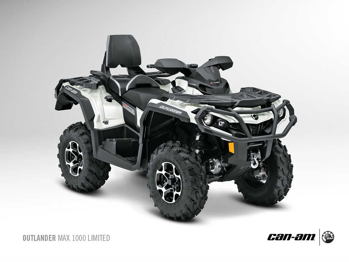 2013 Can Am Outlander Max 1000 Limited Off Road Luxury