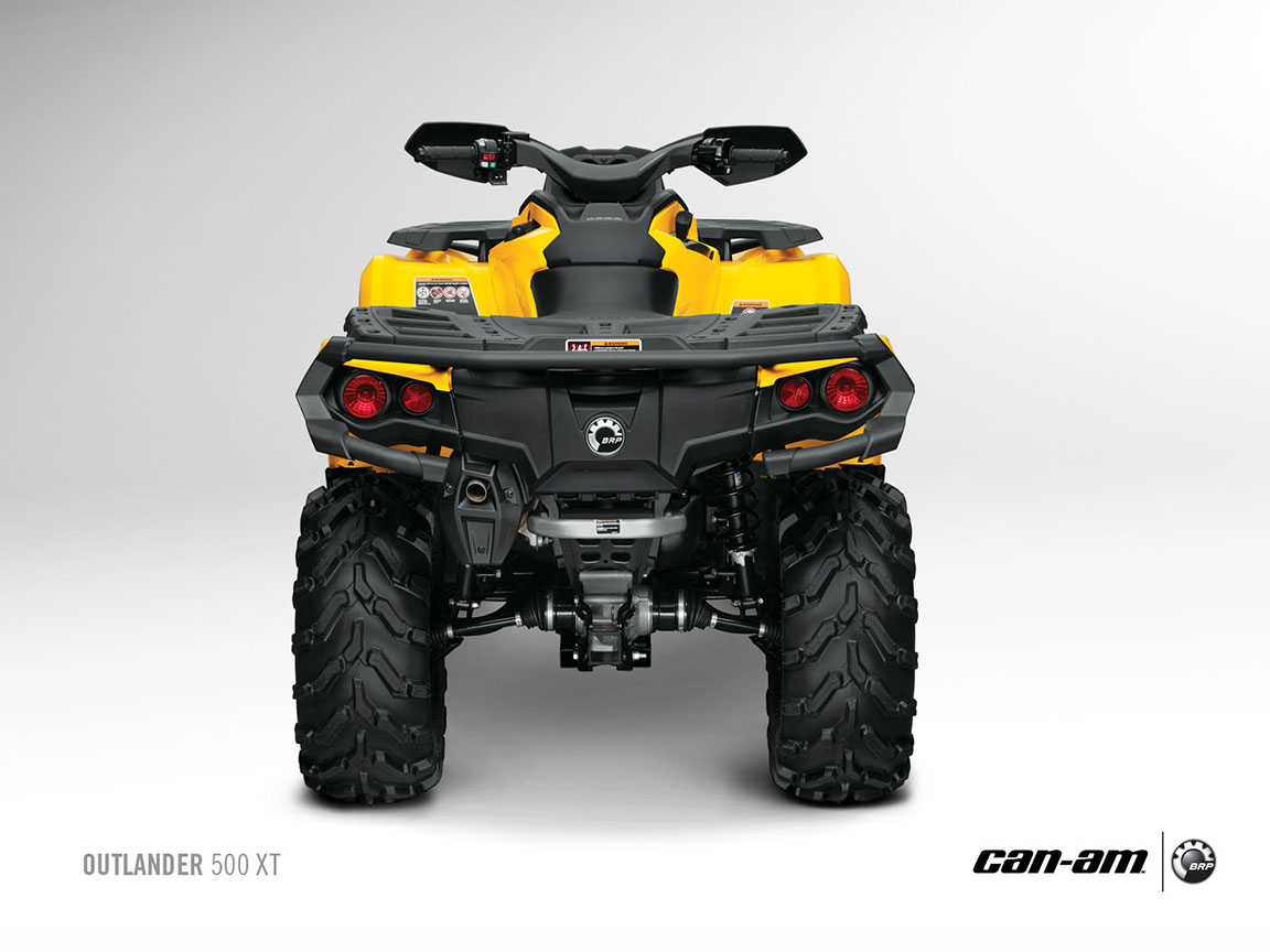 Can Am Outlander 800 >> 2013 Can-Am Outlander XT ATVs Are Good and Look Evil - autoevolution