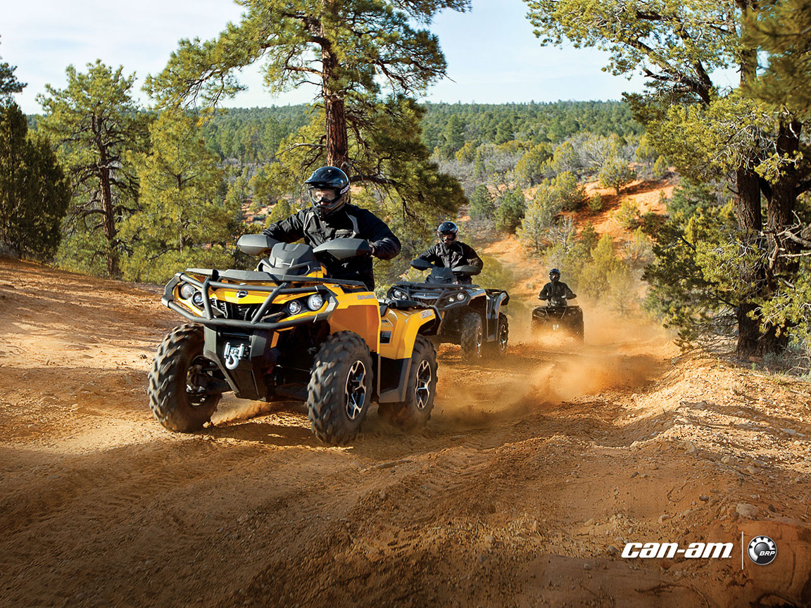2013 Can Am Outlander Xt Atvs Are Good And Look Evil
