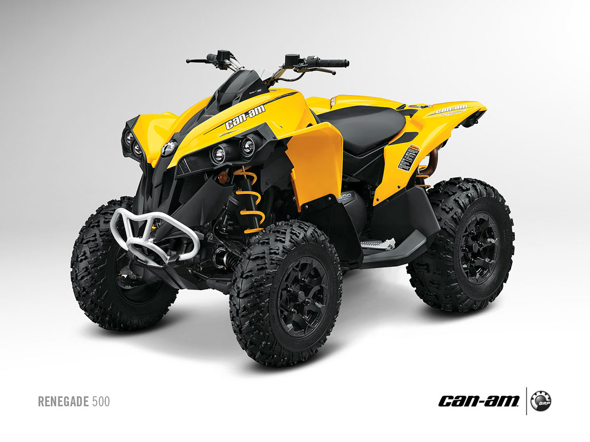 2013 can am renegade 500 your way into sport performance autoevolution. Black Bedroom Furniture Sets. Home Design Ideas