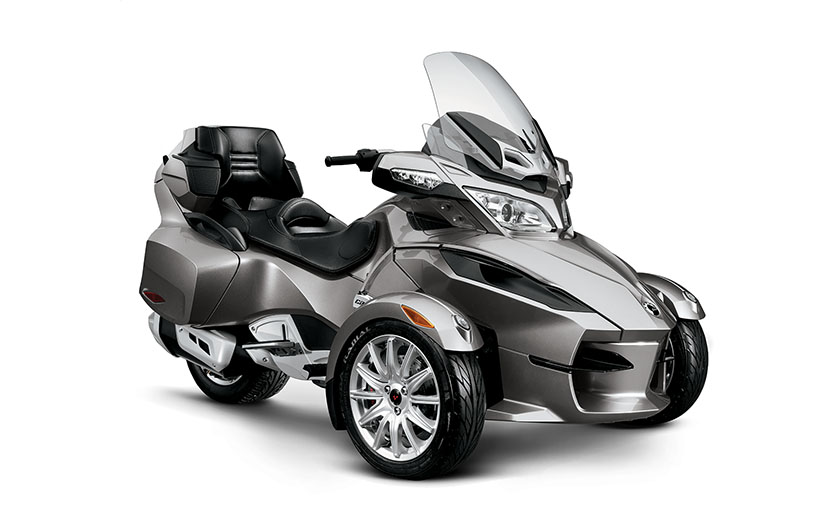2013 Can-Am Spyder RT, a Classy 3-wheel Vehicle ...