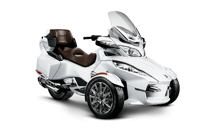 2013 Can Am Spyder Rt Limited Is A Luxury Touring Machine