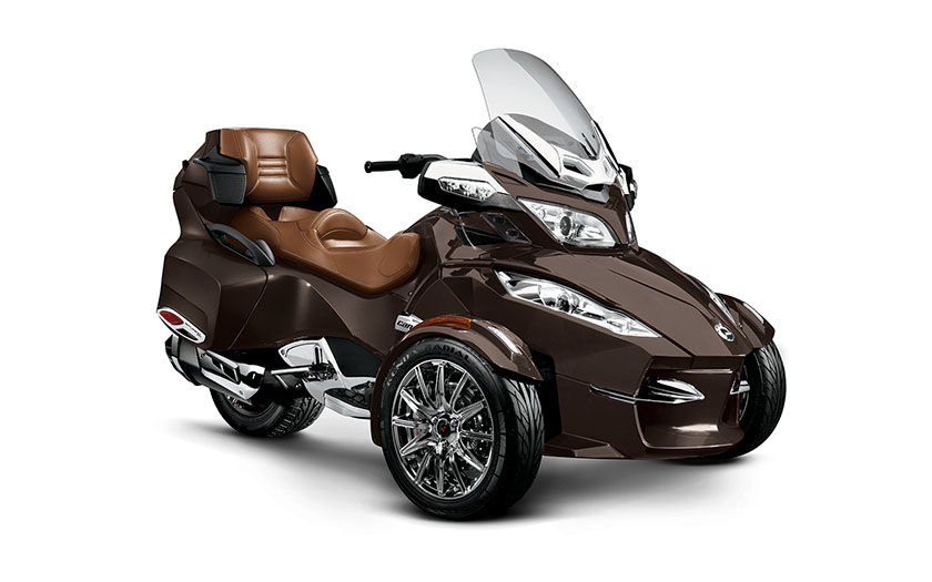 2013 can am spyder rt limited is a luxury touring machine autoevolution. Black Bedroom Furniture Sets. Home Design Ideas