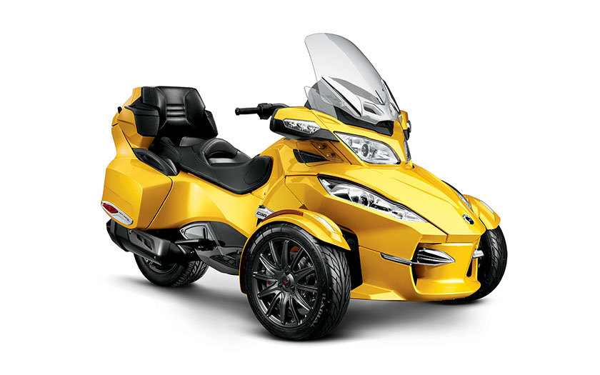 Volkswagen Group Latest Models >> 2013 Can-Am Spyder RT-S - autoevolution