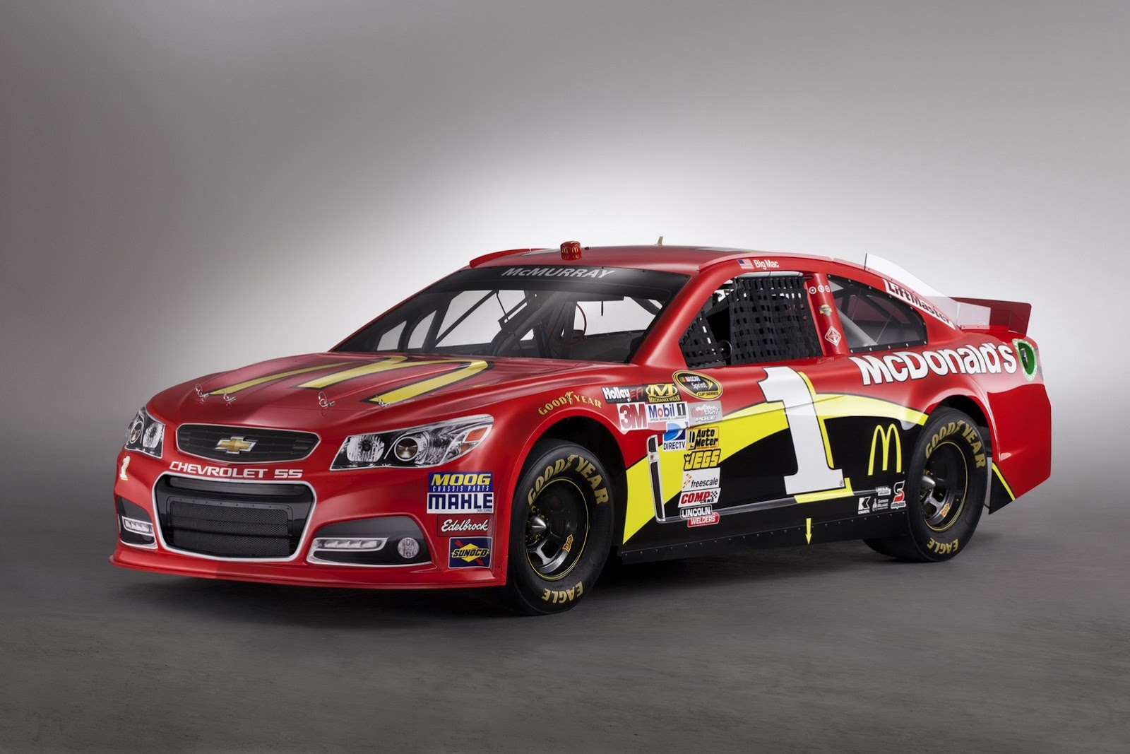 2013 Chevrolet SS NASCAR Race Car - Photo #