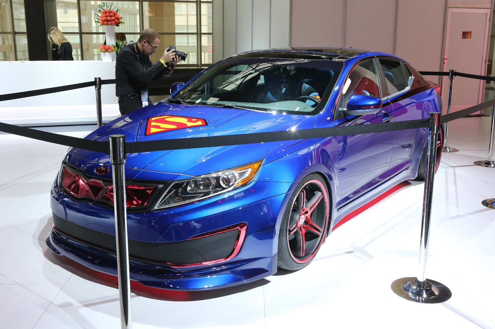 2013 chicago superman kia optima live photos autoevolution superman themed kia optima superman themed kia optima sciox Images