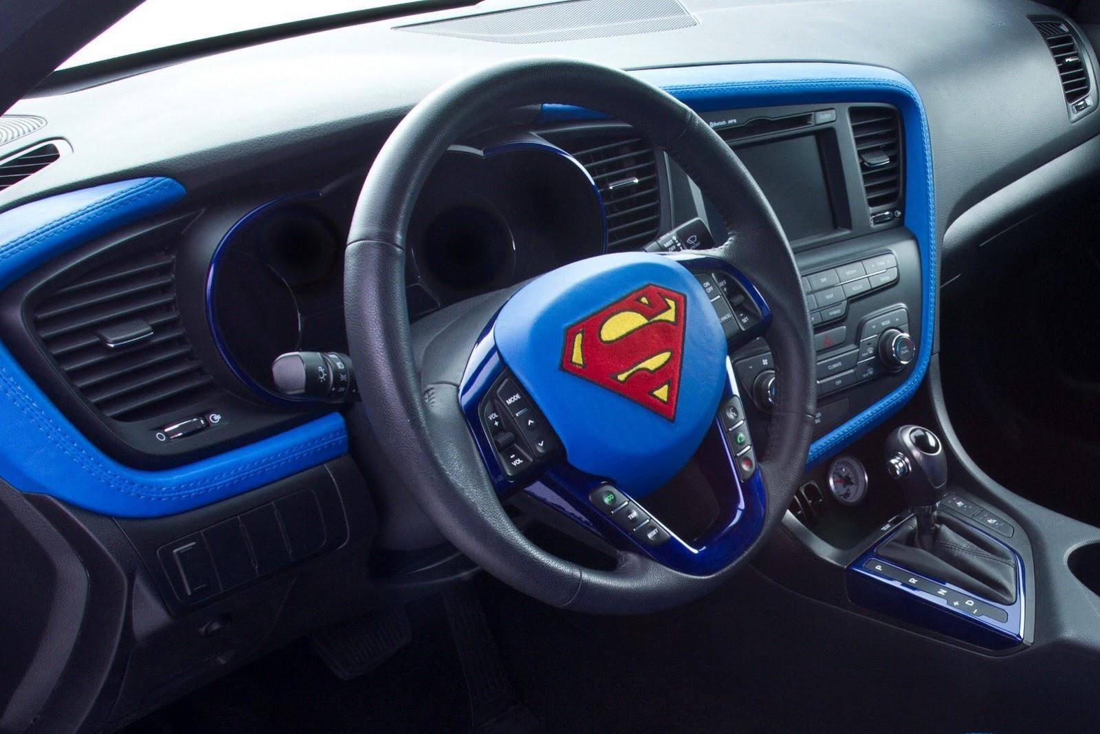 2013 Chicago  Superman Kia Optima  Live Photos