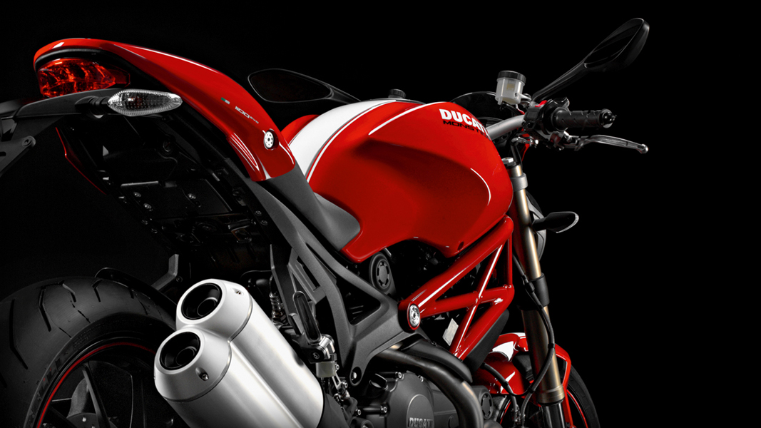 2013 ducati monster 1100 evo is here autoevolution. Black Bedroom Furniture Sets. Home Design Ideas