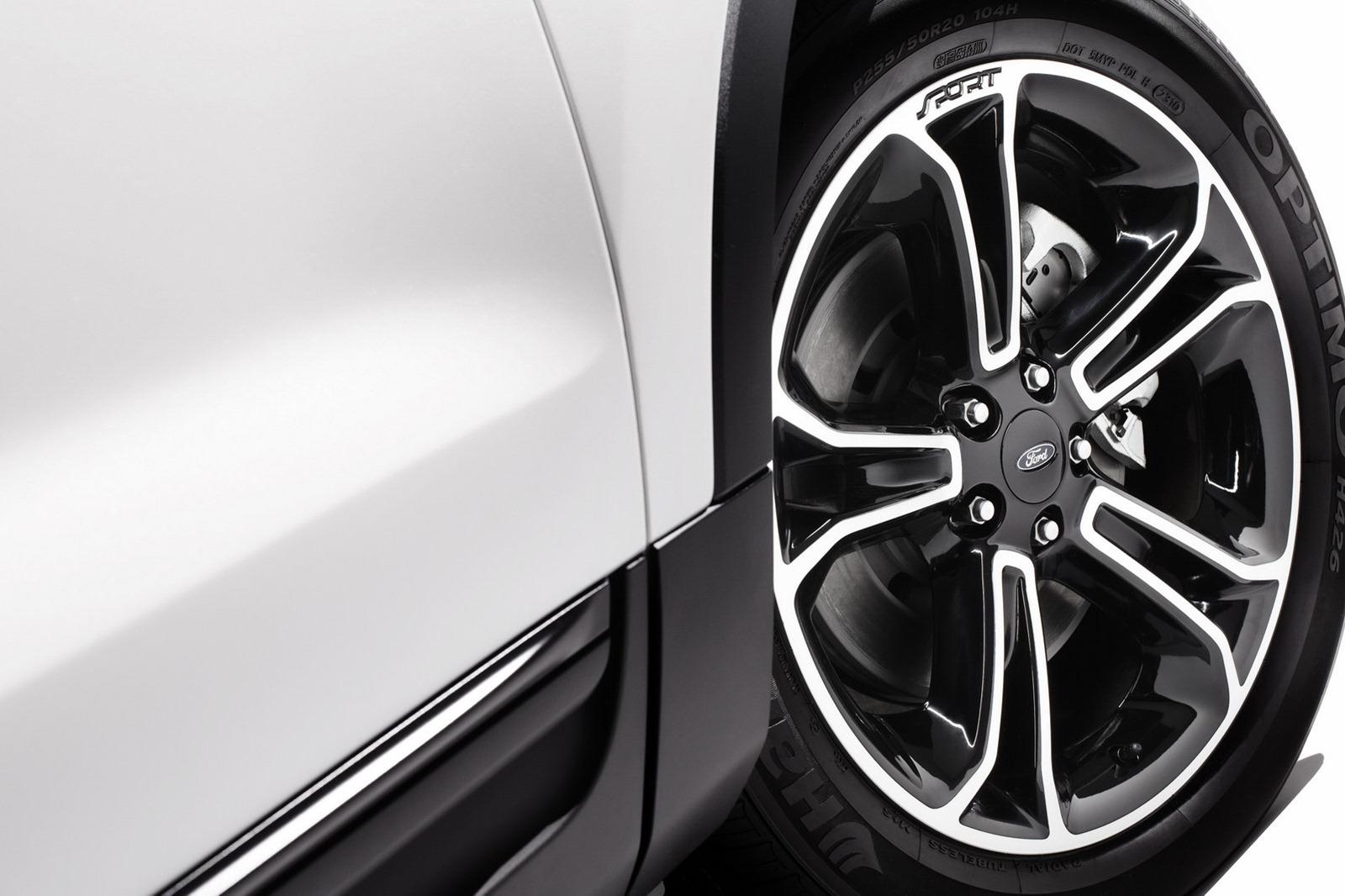 2013 ford explorer sport autoevolution - Red Ford Explorer Black Rims