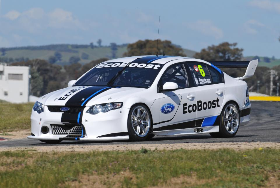 2013 Ford Falcon Race Car For V8 Supercars Unveiled
