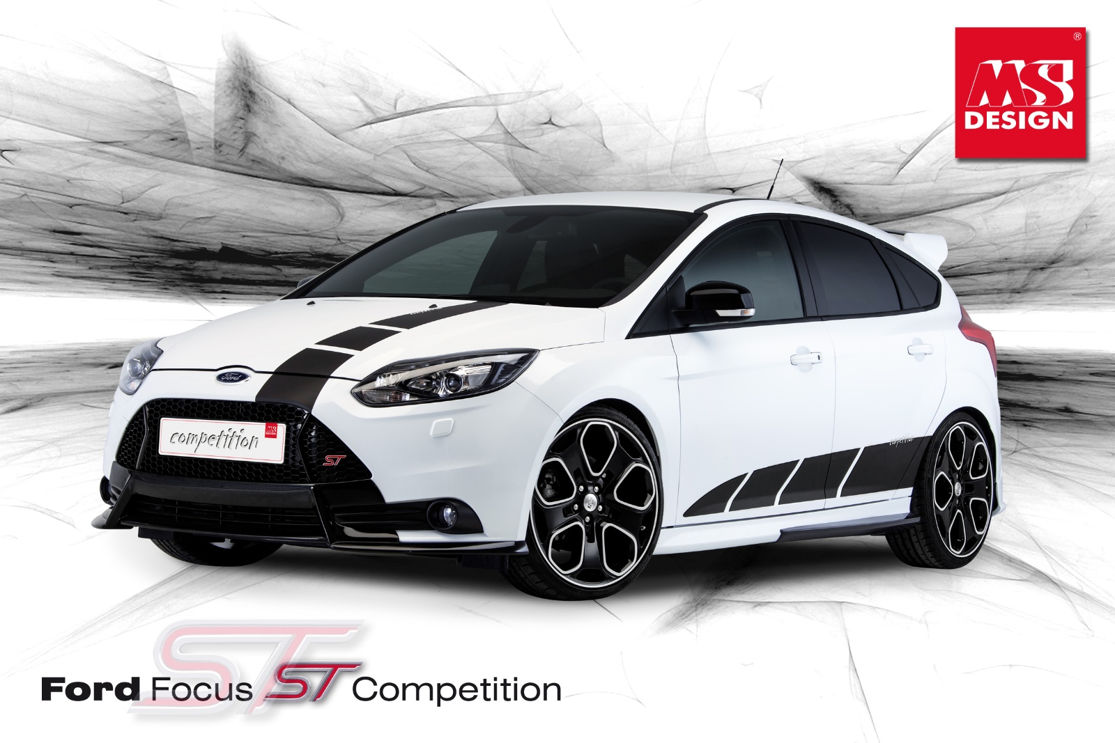2013 Ford Focus ST Competition by MS Design Looks Hot - autoevolution