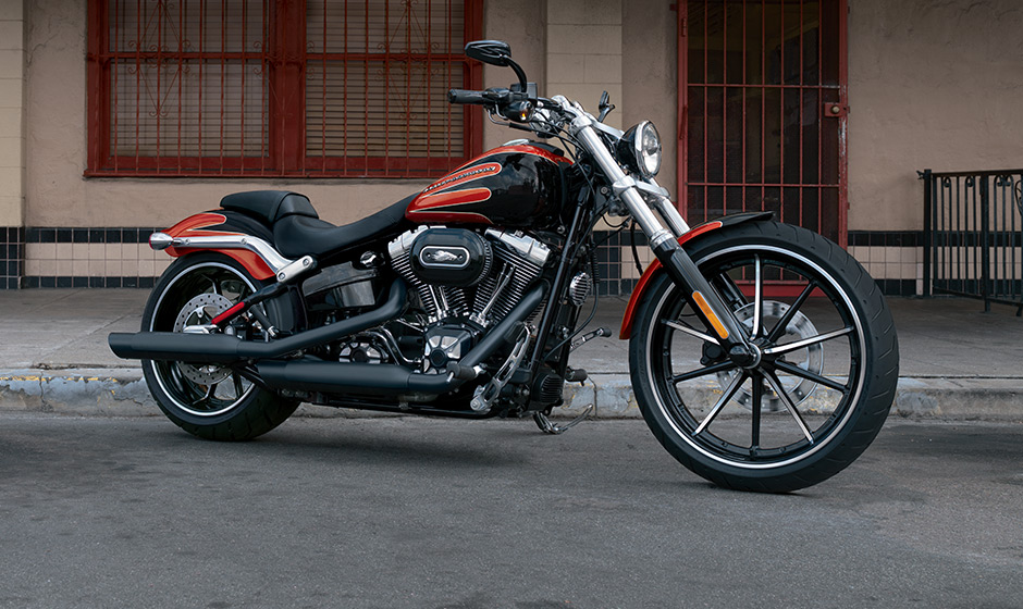 2013 Harley Davidson Breakout On Display In Germany