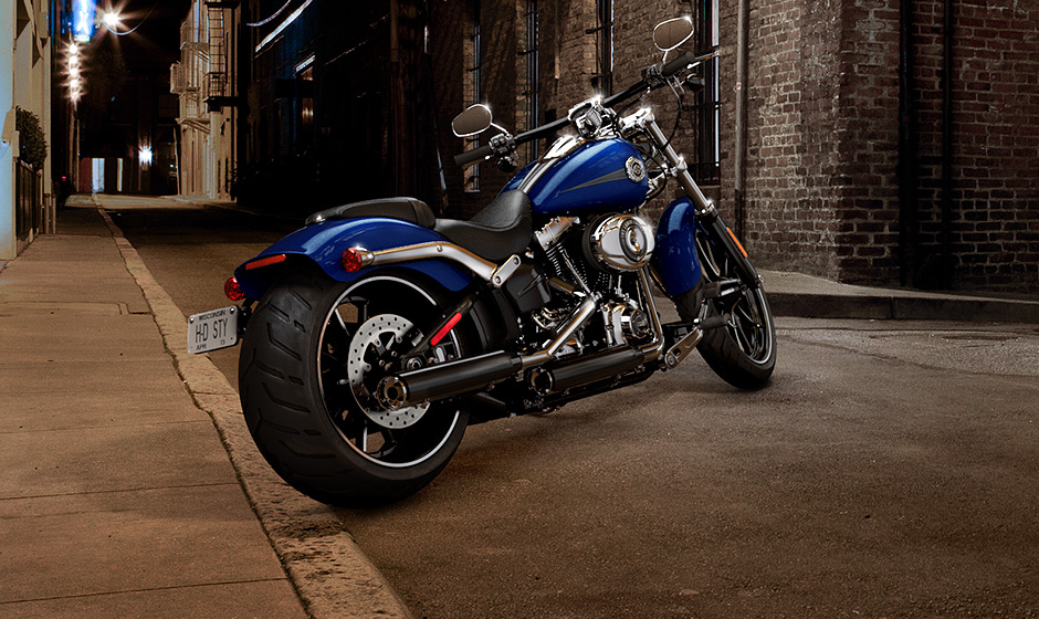2013 Harley-Davidson Breakout on Display in Germany ...