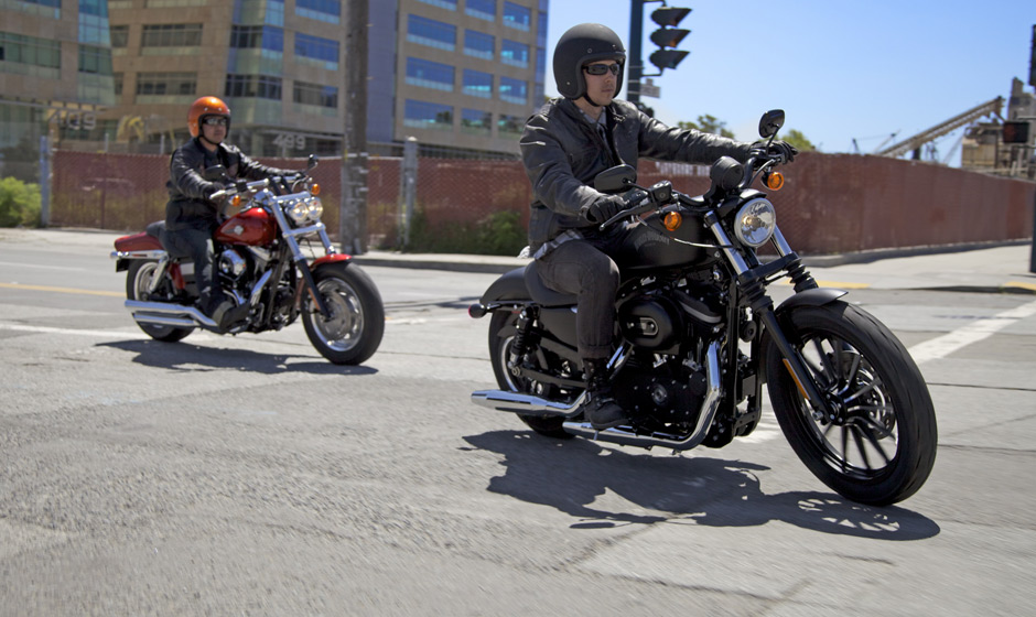 Harley Davidson Fat Bob Has A Mean Clean Look Photo Gallery on Harley Davidson Sportster Choppers