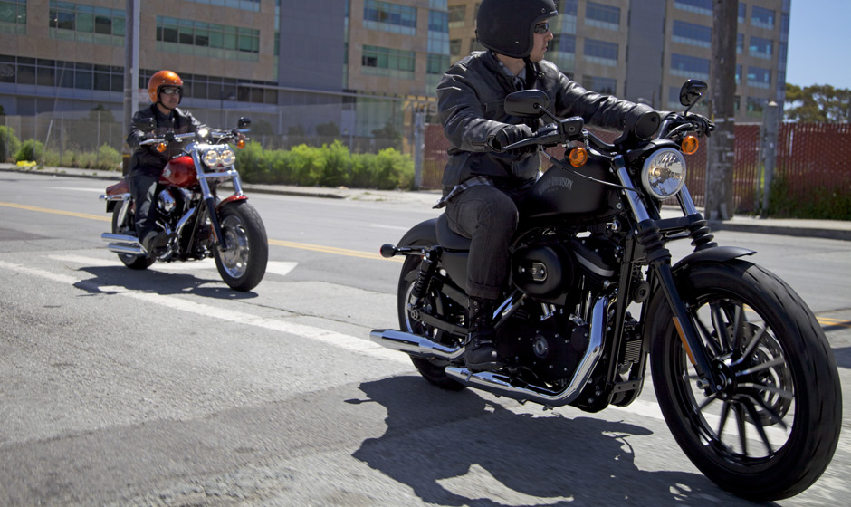 Harley Davidson Fat Bob Has A Mean Clean Look Photo Gallery on Sportster Shocks