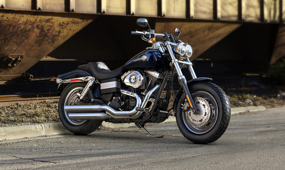 2013 Harley Davidson Fat Bob Has A Mean Clean Look